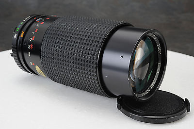 = Focal MC Auto Zoom 80-200mm f4 Lens for Minolta M MD Mount SLR Cameras