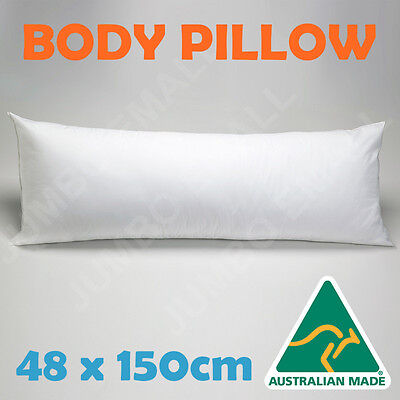 Australian Made Full Body Maternity Pregnancy Support Pillow-100% Cotton Cover