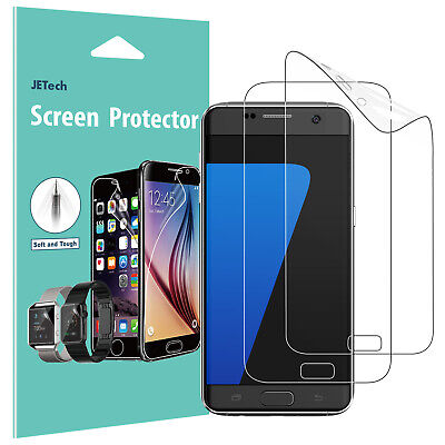 JETech® 2-Pack Samsung Galaxy S7 Screen Protector Film Full Cover HD Clear
