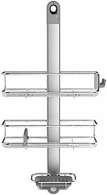 Simplehuman, Adjustable Shower Caddy, S / Steel & Anodised Aluminium, BT1098