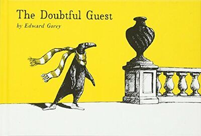 The Doubtful Guest by Gorey, Edward Hardback Book The Cheap Fast Free Post