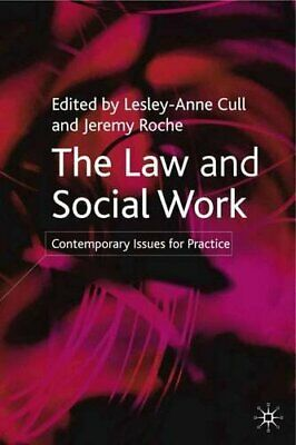 The Law and Social Work: Contemporary Issues for Practice Paperback Book The