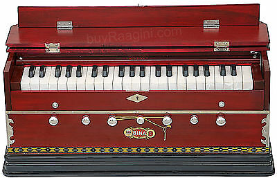 Harmonium New Bina No.9A|Coupler|42 Key/indian|3½ Octaves|Multi-Fold|Bag|Bcb