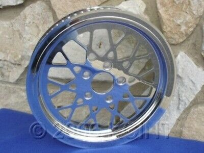 "70 Tooth 1 1/8""  Mesh Rear Pulley For Harley & Choppers With 2 1/4"" Hole"