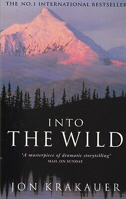 Into the Wild by Jon Krakauer - New Paperback Book