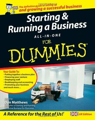 Starting and Running a Business All-in-One For Du... by Tracy, John A. Paperback