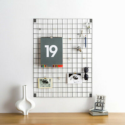 Block Wire Mesh Memo Board - Various Colours available.