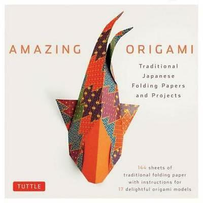 NEW Amazing Origami Kit By Tuttle Editors Book with Other Items Free Shipping