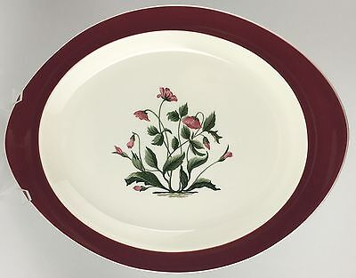 Wedgwood MAYFIELD Ruby oval serving platter (SKU EC 224) FREE SHIPPING