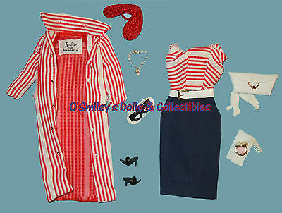 Vintage 1959 ROMAN HOLIDAY #968 (Cruise Stripes #918) Barbie REPRO FASHION_NEW