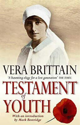 Testament Of Youth: An Autobiographical Study of t... by Vera Brittain Paperback