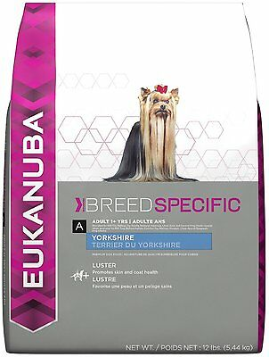 EUKANUBA Breed Specific Dry Dog Food (10144170) (Yorkshire Terrier) 10 lbs  DTF