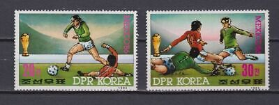 s5978) KOREA 1985 MNH** WC Football'86 - CM Calcio 2v.