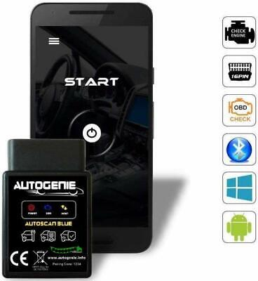BerryKing Autoscan 2017 OBD 2 KFZ Auto Bluetooth Diagnosegerät Android Handy PC