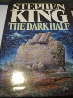 The Dark Half by King, Stephen Hardback Book The Cheap Fast Free Post