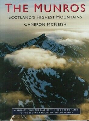 The Munros - Scotland's Highest Mountains by Neish, Mc Hardback Book The Cheap