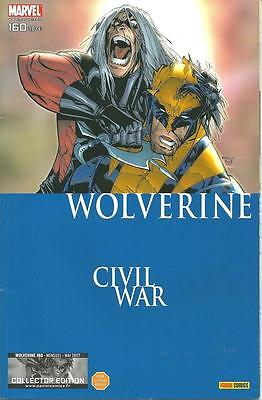 Wolverine N° 160 Collector Edition - Civil War - Panini Comics -2007- Comme Neuf