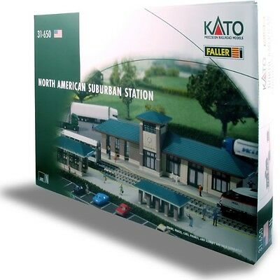 Kato 31-650 N Scale North American Suburban Station Building Kit