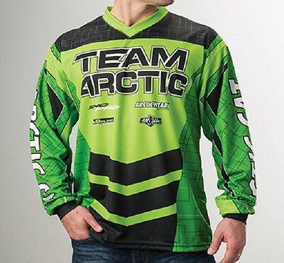 New Arctic Cat 2016 Polyester Sponsor Youth Jersey