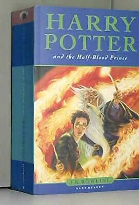 Harry Potter and the Half-Blood Prince (Book 6) by J.K. Rowling Paperback Book