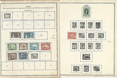 Aden & States Collection 1937 to 1964 on Minkus Pages, British Colony