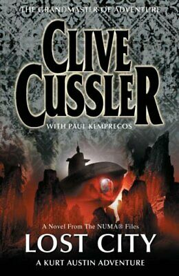 Lost City, Cussler, Clive Hardback Book The Cheap Fast Free Post