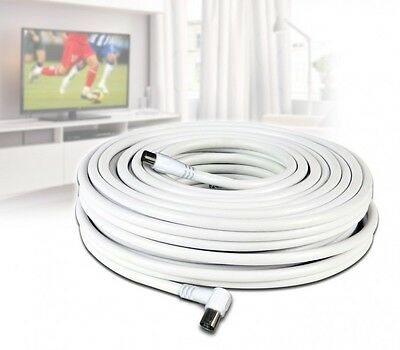 Cavo Antenna Tv Coassiale Satellitare Digitale Terrestre Sat Matassa Prolunga Hd