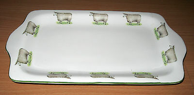 Peter Stanier Fine China Tray Oblong Plate England Sheep