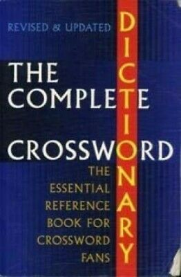 The Complete Crossword Dictionary by Merriam Webster Book The Cheap Fast Free