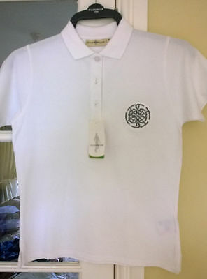 Glenmuir Ladies sophie golf polo grey or white small BNWT