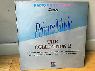 LP  sealed  RADIO MONTECARLO PRIVATE MUSIC COLLECTION 2