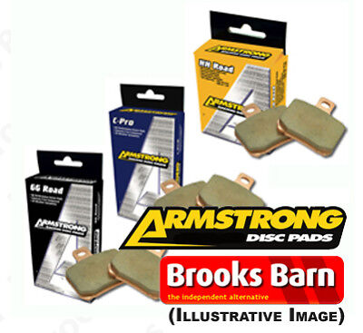 Yamaha YZF-R6 2008 Armstrong Sintered Front Brake Pads HH (FA380HH)