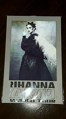 Rihanna 2016 Anti Tour Lenticular Limited Poster 11x17 #/2000