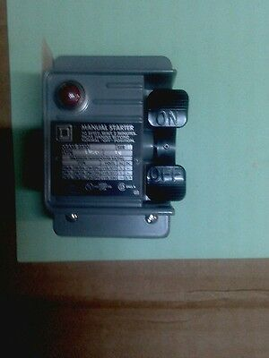 NEW 2510FW2P Square D Manual Starter
