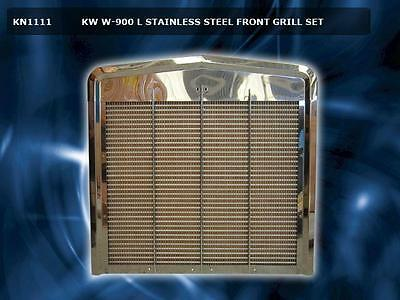 Kenworth W900L Stock Style Grille Assembly Complete Kn1111