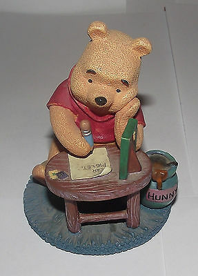 Disney Store Simply Pooh One Is Much Lonelier Than Two Figurine Boxed