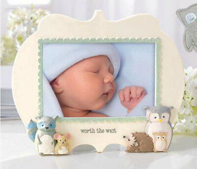 Grasslands Road Owl Love You Forever Baby Photo Frame Worth The Wait 470930