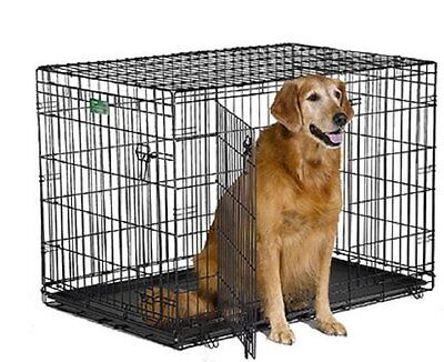 Midwest iCrate Pet Crates Size - 42-Inch w/Divider Style - Double Door[1542DDU]