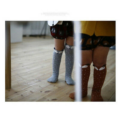 New Babys Kids Toddlers  Girls Knee High Socks Tights Leg Warmer Stockings