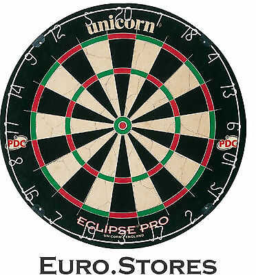 Unicorn 054722794037 Bristle Eclipse Pro Dartboard Darts Board Genuine New