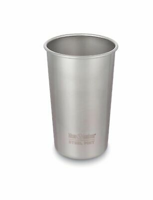 Klean Kanteen - 473ml Steel Pint Cup Brush Stainless - Free P&P