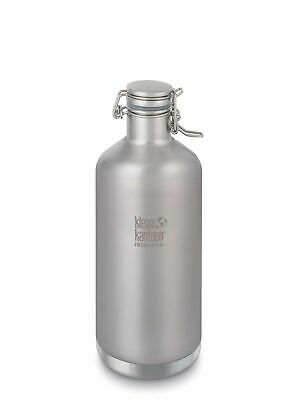 Klean Kanteen - Classic Growler Insulated 1900ml Brushed Stainless - Swing Cap