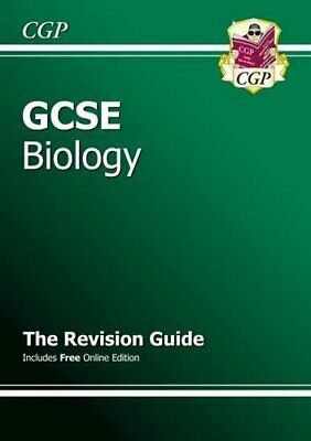 GCSE Biology Revision Guide by CGP Books Paperback Book