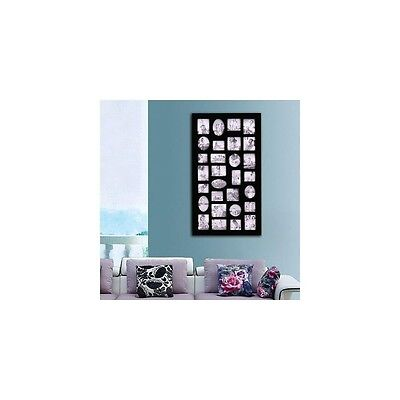 29 Opening Decorative Wood Photo Collage Wall Hanging Picture Frame