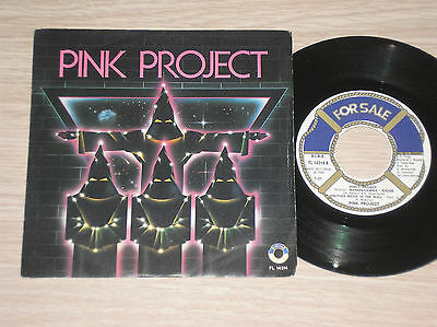 """Pink Project - Disco Project (Pink Floyd, Alan Parsons) - 45 Giri 7"""" Italy"""