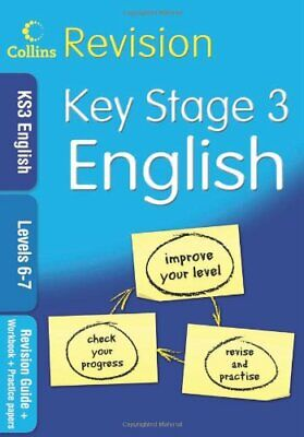 KS3 English L6-7: Revision Guide + Workbook... by COLLINS EDUCATIONAL  Paperback