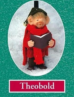The Elves Themselves Theobold Elf Resin Doll Zim's Whitehurst Company # 20013