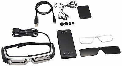 F/S EPSON BT-200 Smart Glass MOVERIO See-Through Mobile Viewer from Japan EMS