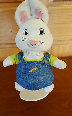 """Max & Ruby Max plush Bunny doll Barnes and Noble 9"""" Rosemary Wells"""