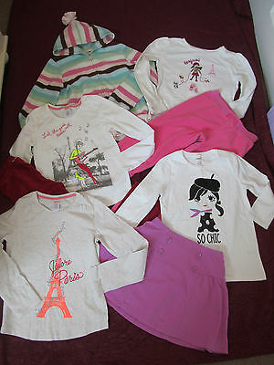 Gymboree clothing lot from several lines jacket tops skirt size 9-10